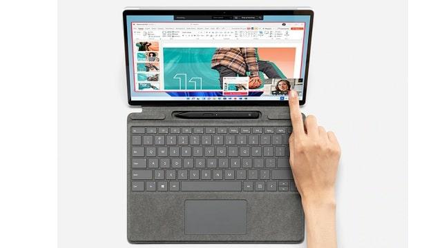 Surface pro 8 キーボード使用時