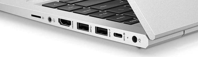 HP Probook 440 G8の筐体エッジ