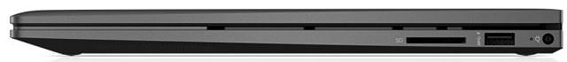 Envy x360 15-ee1000の右側面インターフェース