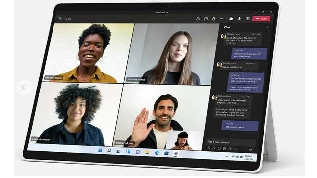 Surface pro 8 ビデオ通話