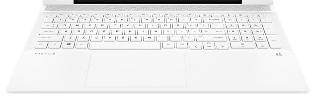 HP Victus 16のキーボード