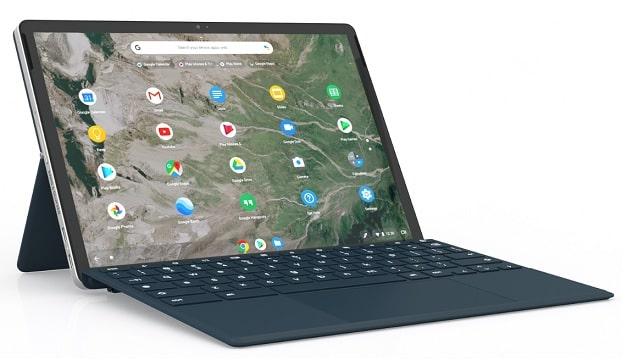 HP Chromebook x2 11 左斜め前から
