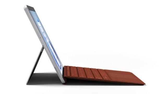 Surface Go 3 キーボード付き 左側面