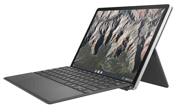 HP Chromebook x2 11 右斜め前から