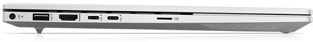 HP Envy 15-ep1000 左側面インターフェース