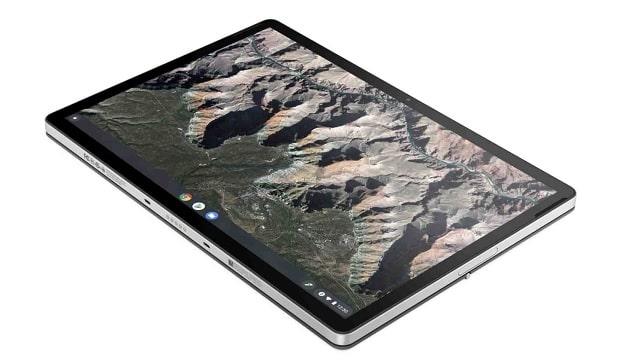 HP Chromebook x2 11 タブレット部分 寝かせた状態