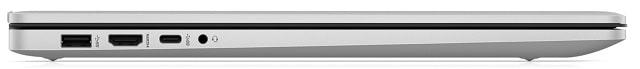 HP 17s-cu0000 左側面インターフェース