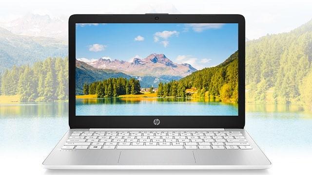 HP Stream 11-ak0000のディスプレイ