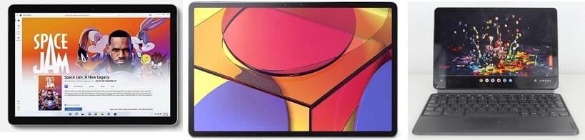 Surface Go 3と比較機種の筐体