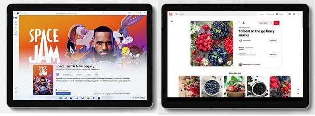 Surface Go 3と旧モデルの筐体