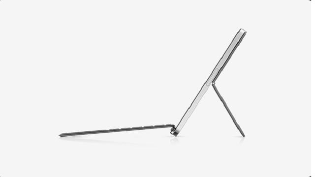 HP Chromebook x2 11 横から
